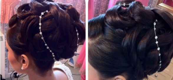 Elegant Contemporary Creative Asian Hair Styles Z Bridal Z